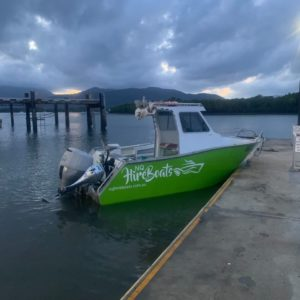 NQ Hire Boats - Cairns - Booking System - Charlie